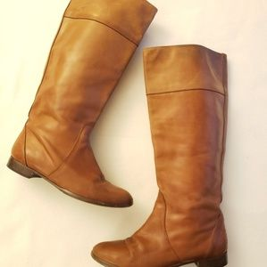 J Crew Booker Boots British Tan womens 10